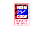 N�s aderimos aos princ�pios da charte HONcode da Fondation HON