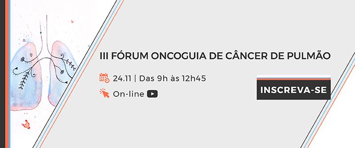 3º Fórum de Câncer de Pulmão Oncoguia