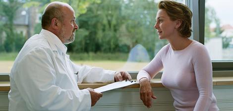 Conversando com o médico