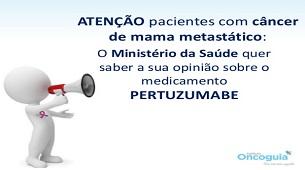 Consulta Pública Pertuzumabe