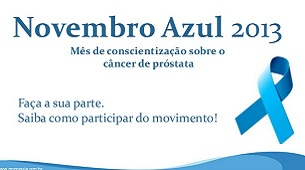 Novembro Azul: fa�a parte desse movimento!