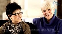 Marisa Kohara e Lucia Fava - Da troca de experiências à amizade verdadeira